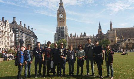 Најдобрите ученици од Аеродром на настава во Лондон